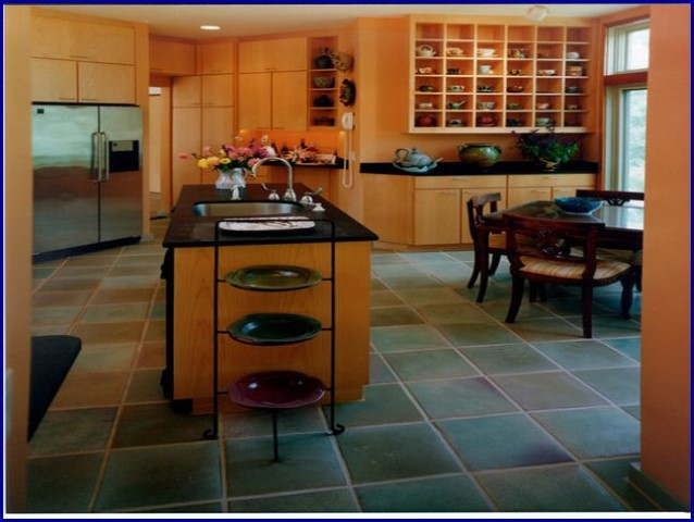 Choosing kitchen flooring what 39 s the most ideal kitchen - Most popular kitchen flooring ...